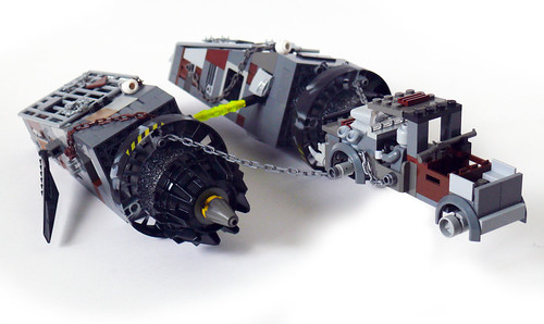 Zombie's Post-Apoc Podracer rear