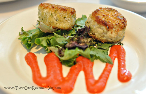 Crab Cakes at Ursula's Wine Bar ~ White Bear Lake, MN