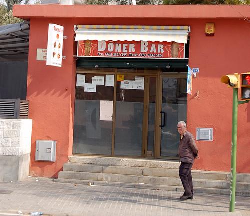 Restaurante Döner en el barrio de Torre-romeu