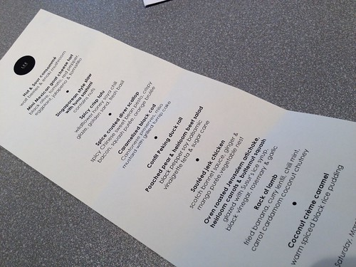Everyone at the SketchBook event in Toronto was treated to a 12-course meal at Susur Lee's restaurant