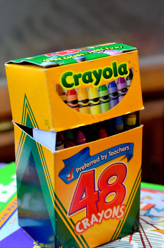 Extend the Life and Value of Crayons (72/365)