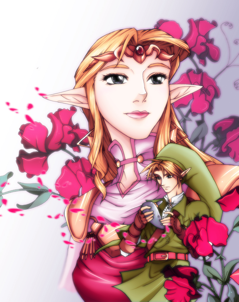Princesa Zelda ( obra de crazyfreak)