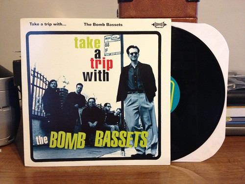 The Bomb Bassets - Take A Trip With... LP by Tim PopKid
