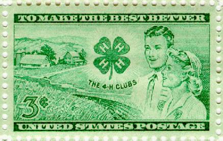 4-H Stamp