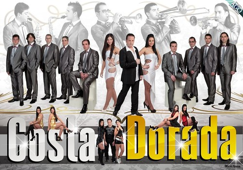 Costa Dorada 2012 - orquesta - cartel