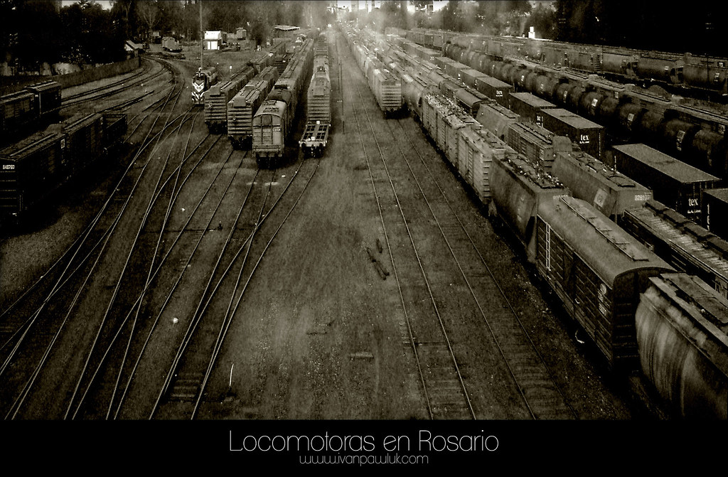 Locomotoras by PAWLUK IVAN