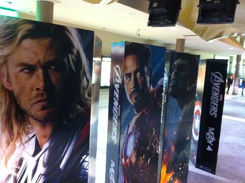 Avengers display