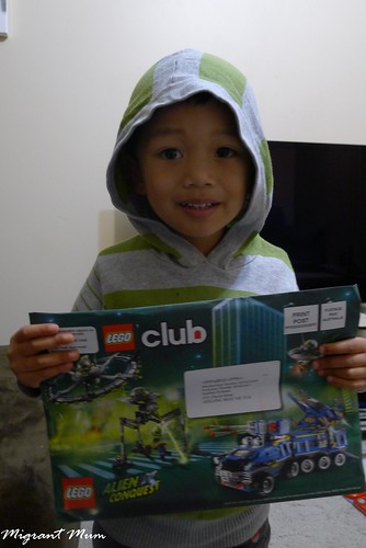 Lego Club Mail