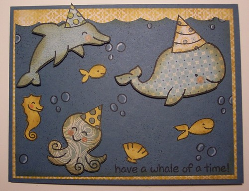 Ocean Birthday Card