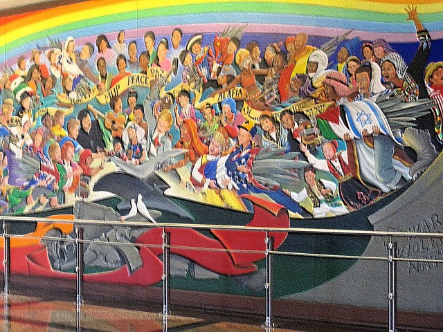 Denver airport murals 2 flickr photo sharing for Mural in denver airport