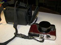new camera bag & strap combo
