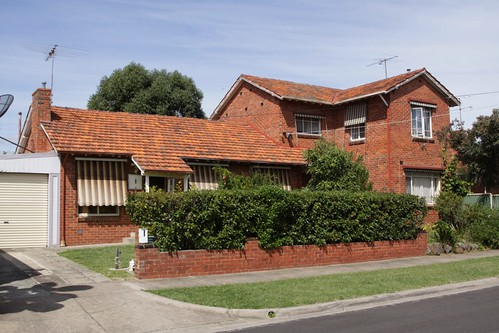 Semi-detached housing commission houses in Ascot Vale