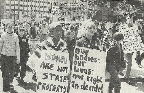 June 1972 Abortion Rights March, NYC, NY (John Soto - New York Times)