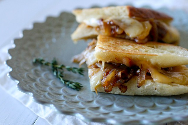 French Onion Grilled Cheese - Everyday Annie