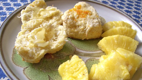 Orange Coconut Scones