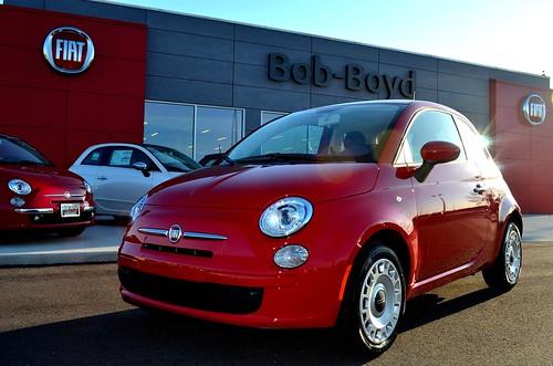Win a 2012 FIAT 500 Pop @ Bob-Boyd FIAT