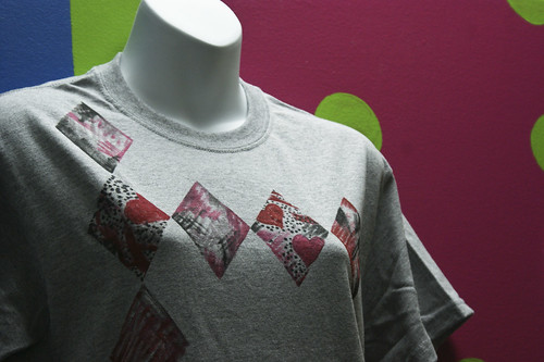 Heart Argyle Tshirt