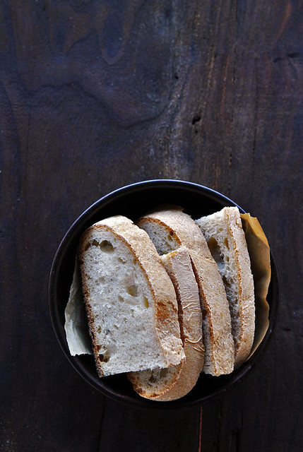 Pane bianco con pm