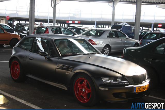 S50B32 M Coupe | Matte Black Vinyl | Imola/Black | Red Powder Coated Roadstars