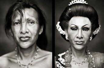 Imágenes, en LaVanguardia, del reportaje 'Ludruk' (Diego Verges)