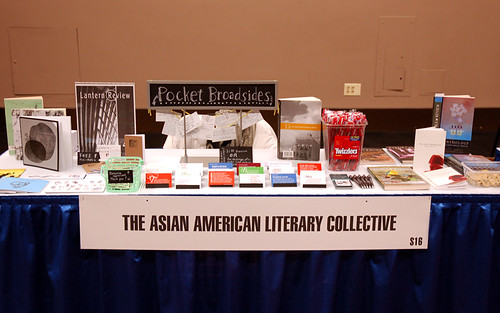 Asian American Literary Collective Table Display
