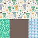 Baby bear + co-ordinates (blues) by monda loves...