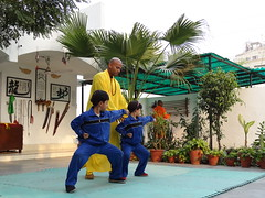 Mon, 12/03/2012 - 16:23 - Shifu Shi Yan Du (Kanishka Sharma) is the Official Buddhist Name (Darma Name) given by Shaolin Temple under the Guidance of Abbot Shi Yongxin, is a Shaolin Warrior from Shaolin Temple, China. He is the First Indian  Shaolin WarriorTo be Trained at Shaolin Temple Under the Guidance of Shifu Shi Heng Jun who introduced him to legendary Grand Master Suxi and his kungfu Brother Shifu Shi Deyang and currently is head of Shaolin India. Under Shifu Shi Heng Jun Guidance Shifu kanishka got trained in Shaolin jiben gong ShibaShi, Shaolin Tai Tzu Chang quan, Shaolin Wu bu Chuan,Shaolin Qi Xing Chua, Shaolin Xiao Hong Chuan, Shaolin Luohan Shi Ba shou, Shaolin Luohan Duanda, Shaolin Luohan chuan, Shaolin Wuxing Bafa (5 animal 8 movement), Shaolin Rumen chuan, Shaolin Kung Chuan, Shaolin Yin Shou Gun, Shaolin 9 Section whip Chain, Shaolin Broadsword (Dao), Shaolin Jian( straight sword),Shaolin Fun Mo Gun, Shaolin XinYi Quan , Shaolin Ba Duan jin and Shaolin yi jin jing Qi Gong. Shifu Kanishka also studied Shaolin San Sa liu Duanda( 36 short fighting combination of Shaolin kungfu) and Shaolin 36 Yin Chin-Na( locking system) In the year 2005 Shifu Shi Hengjun Travelled to France to spread the knowledge of Shaolin Chan Wu. Since then Shifu kanishka became disciple of Legendary Grand Master Shi Suyi (Liang Yiquan) who Deputed his Disciple Shifu Shi Yanfang who trained him in Shaolin Mehiua Chuan, Shaolin Pao Chua, Shaolin Hu chuan( Tiger fist), Shaolin Eagle Fist, Shaolin Tanglang Quan, Shaolin Kan jia chuan, Shaolin Yangjia Shi San Qiang( 13 Spear), Shaolin Moon Spade, Tongbei Chuan, Traditional Combat like Shaolin Tang fang ba, Hubpuba and introduced him to highest level of Shaolin Fighting called Xin Yi Ba. Shifu Shi Yanfang also trained Shifu kanishka intensly in Shaolin Sanshou( Free Fighting) specially in Shao Jiao( wrestling) and Shuai Fa( Takedowns) In the year 2008 Shifu Kanishka got the honor to train with Da Shifu Shi Yanzi ( a famous monk who h