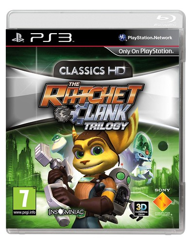 The Ratchet And Clank Trilogy – Coming May 2012