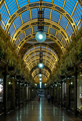County Arcade, Leeds, at dusk by Tim Green aka atoach