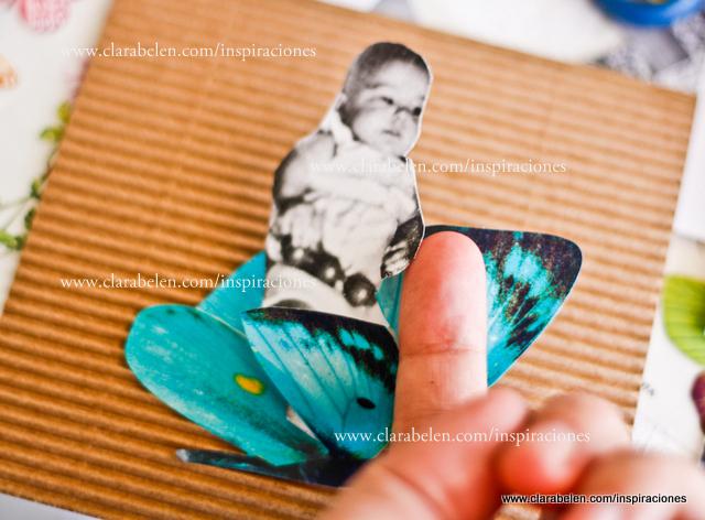Hacer dotos 3D para álbum de fotos caseros con CD