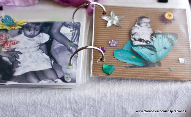 Inspiraciones manualidades y reciclaje decorar p ginas de un lbum casero - Como hacer un album casero ...