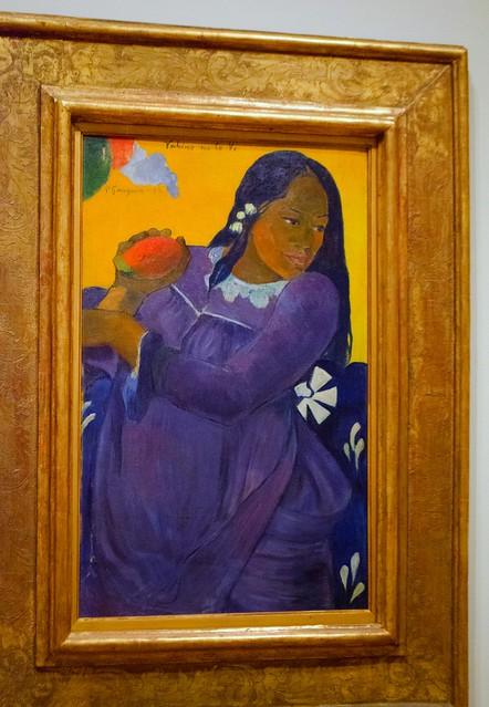 20120315-Woman of the Mango Gauguin 1892DSC_0853.jpg