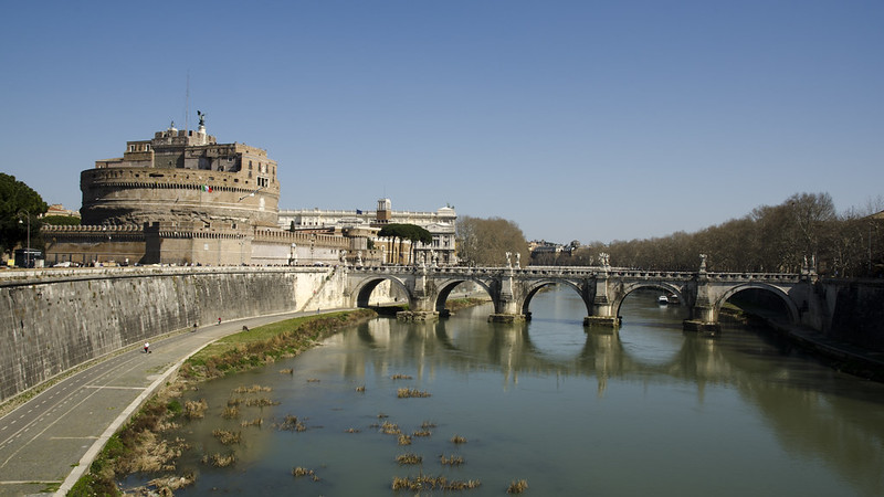 Castel Sant' Angelo et Ponte Sant' Angelo