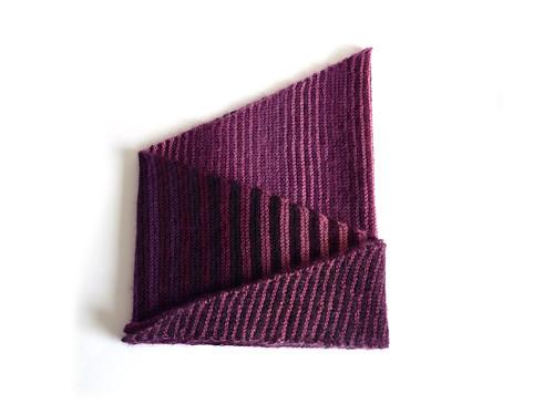 Stripy baktus scarf