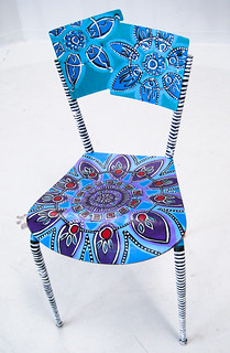 Art Chair for Allentown Freak Out Festival fundraiser
