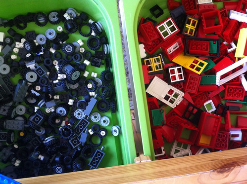 legos, newly sorted