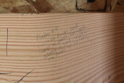 Verse in Livy's room