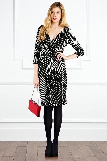minda stripe dress