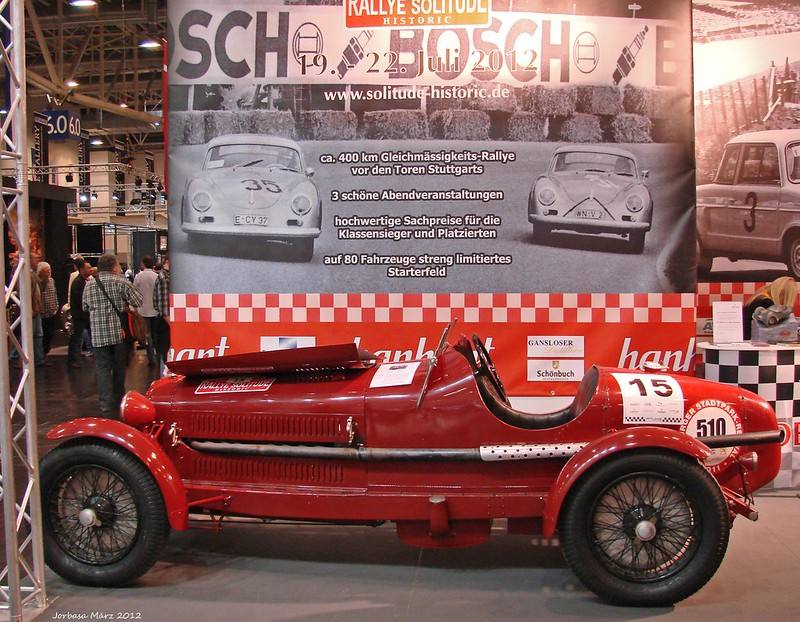 Techno Classica 2012 in Essen - en passant