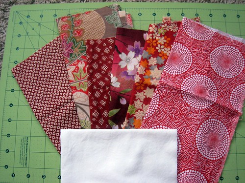 Bee Happy Pieced Heart Fabric