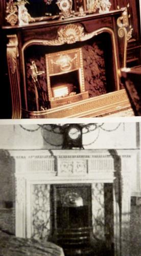 интерьер Титаника до и после 2