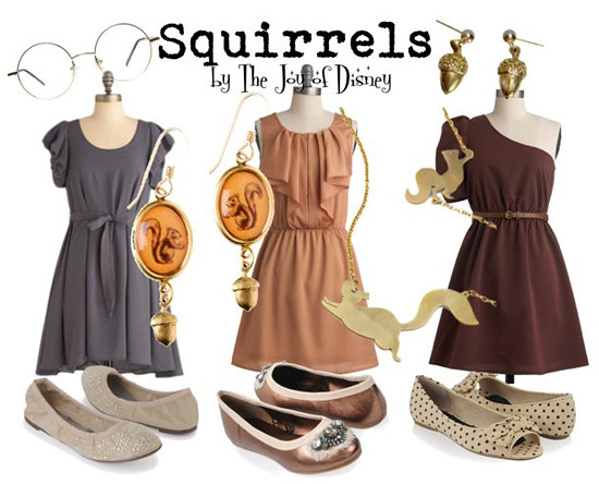 Squirrels from The Sword in the Stone