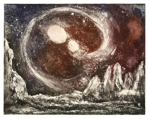 011-Las estrellas dobles-Serie Cosmos 1984- René Bord- Bibliothèque Municipale de Lyon