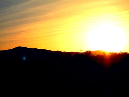 california ca sunset orange usa sun landscape unitedstates desert april 2012 helendale canonpowershots95