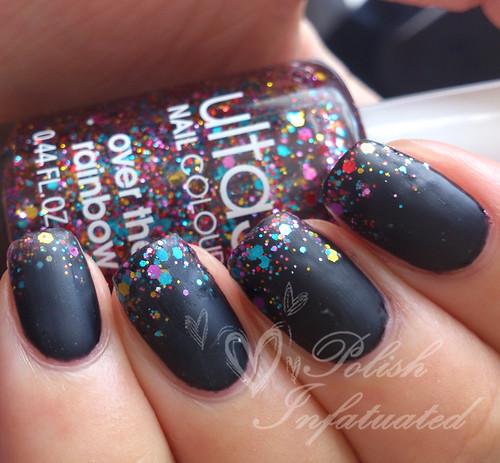 black rainbow matte