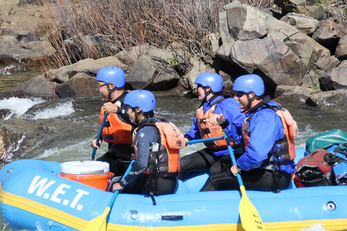 California rafting with WET River Trips
