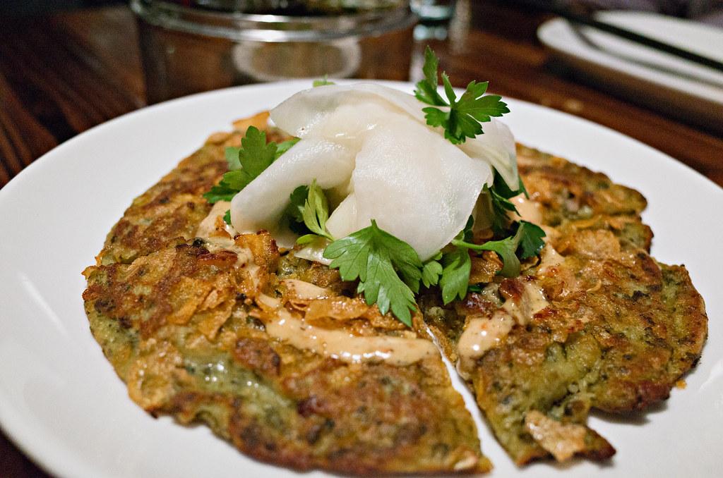 oyster pancake - Revel