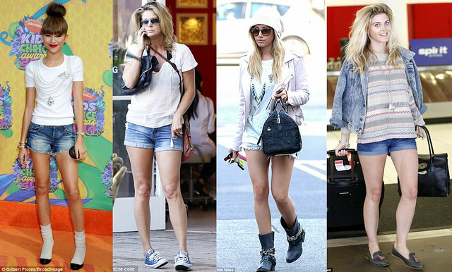 Denim Trend: shirts, shorts, dresses, dungarees & jackets ...