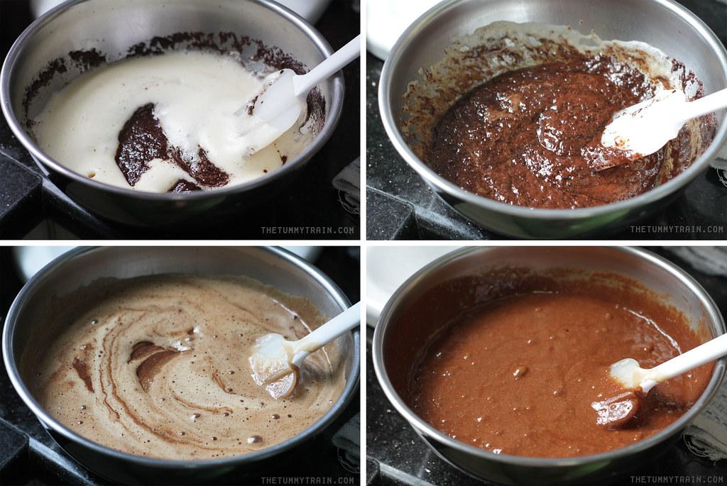 13889350305 6011639c8e b - My first ever deeply dark Flourless Chocolate Cake