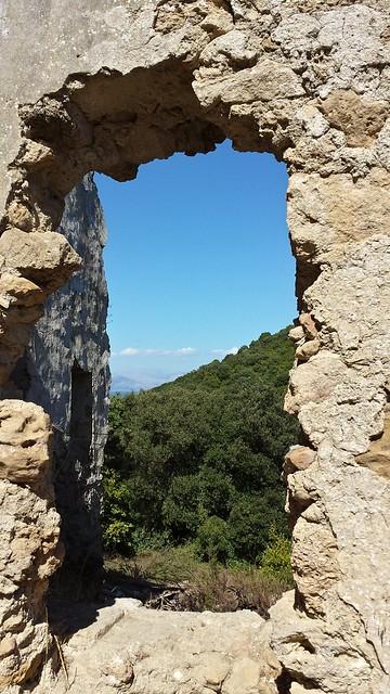 ruiny klasztoru kavos